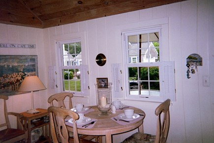 Dennis Port Cape Cod vacation rental - Dining area of living room