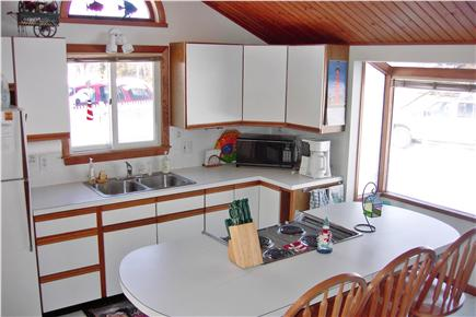 Falmouth Cape Cod vacation rental - Kitchen with Cathedral Ceiling & new appliances