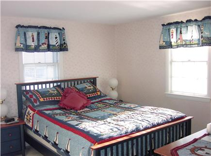 Falmouth Cape Cod vacation rental - Master Bedroom with separate bathroom