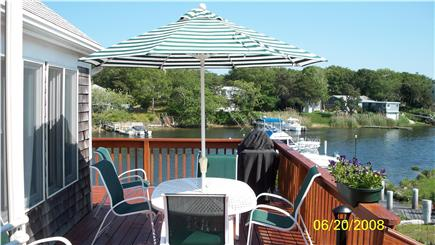 Falmouth Cape Cod vacation rental - Inviting Deck for Entertaining