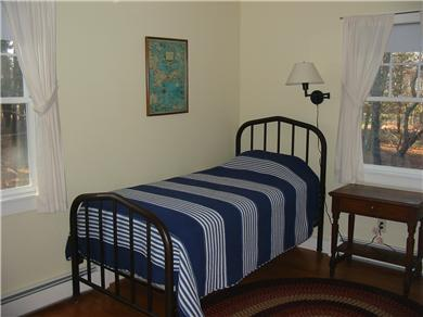 Eastham Cape Cod vacation rental - Bedroom with two twin beds (partial view)