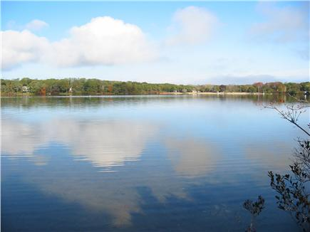 Eastham Cape Cod vacation rental - Enjoy 100 acre Great Pond right from the Dock!