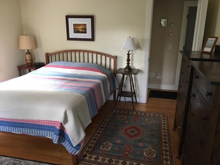 Eastham Cape Cod vacation rental - Master bedroom with queen size bed - partial view