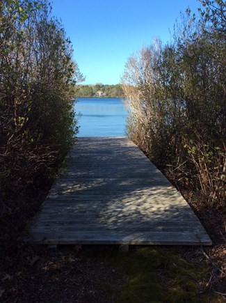 Eastham Cape Cod vacation rental - Private boardwalk access to Great Pond