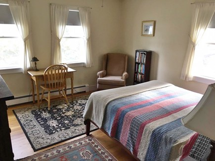 Eastham Cape Cod vacation rental - Master bedroom with views to Great Pond - partial view