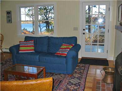 Eastham Cape Cod vacation rental - Living Room with waterviews