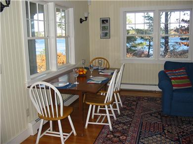 Eastham Cape Cod vacation rental - Dine overlooking the water
