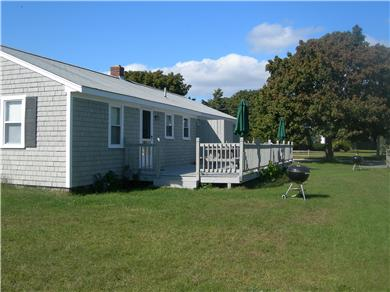 Falmouth Cape Cod vacation rental - Large yard and deck