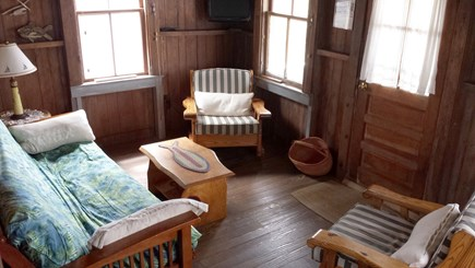 Truro - Corn Hill Cape Cod vacation rental - Den with water views