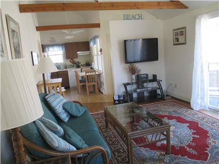 Wellfleet Cape Cod vacation rental - Living Room with Flat Screen TV