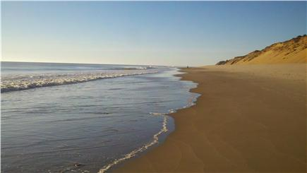 Wellfleet Cape Cod vacation rental - ''Our beach'' at MacGuire's Landing - low tide