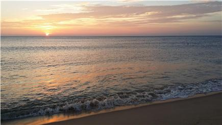 Wellfleet Cape Cod vacation rental - Sunrise over the Atlantic Ocean