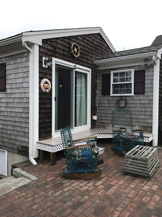 Dennis Port Cape Cod vacation rental - Dine out on the brick patio