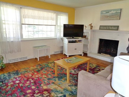 Centerville West Hyannisport Cape Cod vacation rental - Living room , full sleep sofa, smart tv with cable , wi-fi