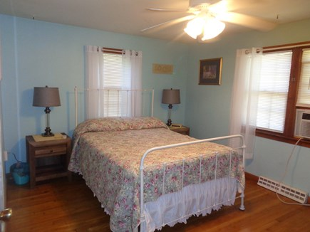 Centerville West Hyannisport Cape Cod vacation rental - Master Bedroom, Full size bed, new bureau, nightstands and lamps