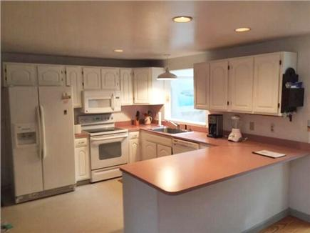 Harwich Cape Cod vacation rental - Kitchen; Dishwasher; barstools at counter