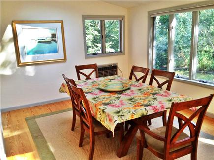 Harwich Cape Cod vacation rental - Sun Room/Dining Room off kitchen