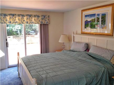 Harwich Cape Cod vacation rental - Master bedroom with King bed and private bathroom/walk-in closet