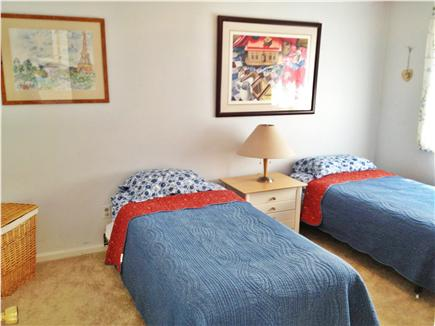 Harwich Cape Cod vacation rental - Third upstairs Bedroom with twin beds