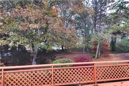 Harwich Cape Cod vacation rental - Pond from the front deck
