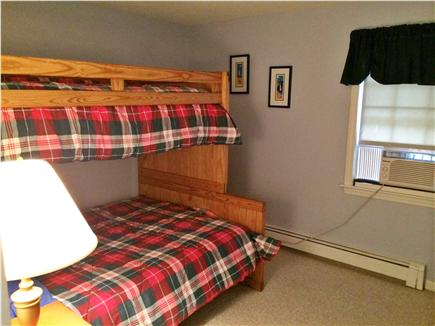East Harwich, Pleasant Bay Cape Cod vacation rental - 3rd bedroom with bunk beds (double and full beds)