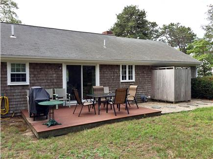 East Harwich, Pleasant Bay Cape Cod vacation rental - Spacious back yard