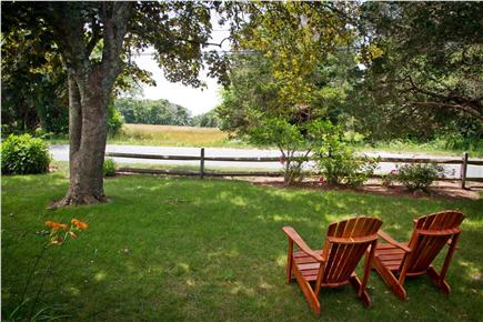 East Orleans Cape Cod vacation rental - Enjoy coffee or a cocktail with this view.