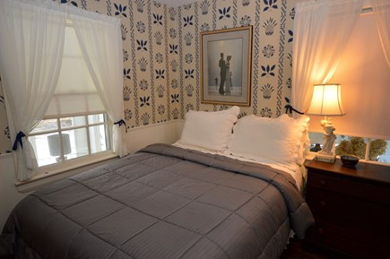East Orleans Cape Cod vacation rental - Bedroom with queen bed on main floor with adjoining bathroom