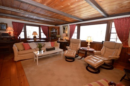 East Orleans Cape Cod vacation rental - Spacious 25x15 Living room with plenty of seating & large windows