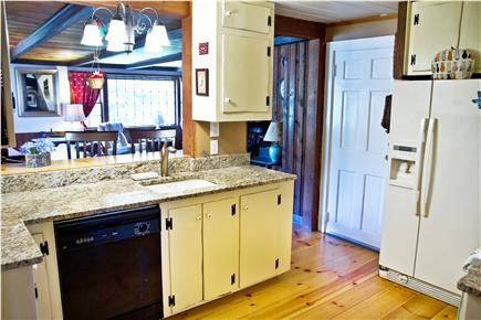 East Orleans Cape Cod vacation rental - Country kitchen with breakfast bar