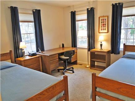 Eastham - Herring Pond Cape Cod vacation rental - Twin bedroom with office area