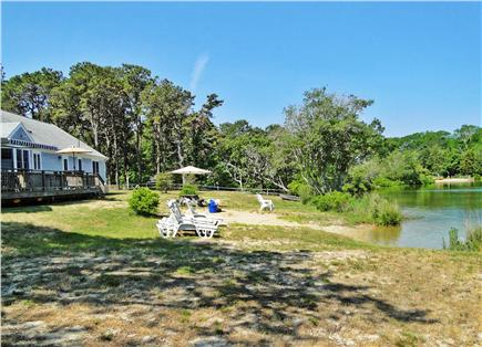 Eastham - Herring Pond Cape Cod vacation rental - Enjoy, lounge and play on your own private beach