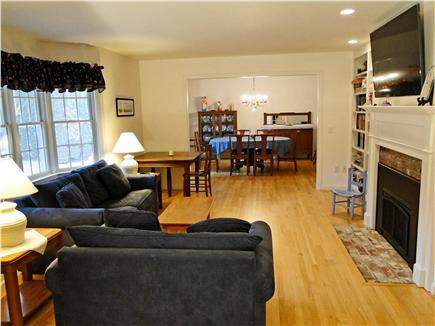 Eastham - Herring Pond Cape Cod vacation rental - Treat yourself to an elegant meal in the adjoining dining room
