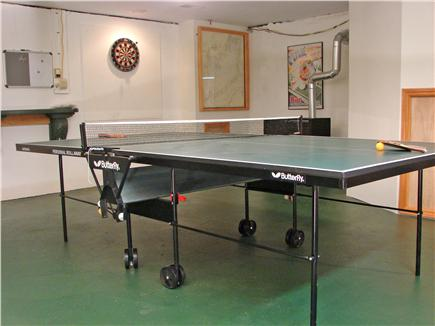 East Falmouth Cape Cod vacation rental - Enjoy the downstairs rec room with pool and ping pong tables