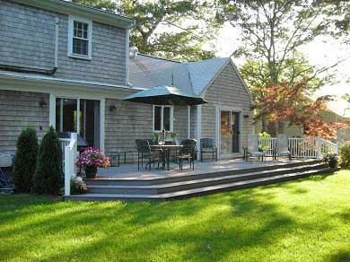 East Falmouth Cape Cod vacation rental - New Deck and Gas Grill