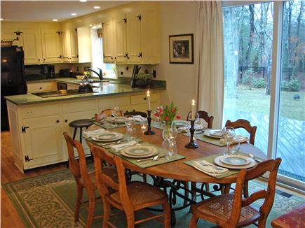 East Falmouth Cape Cod vacation rental - Open floor plan is great for gathering together