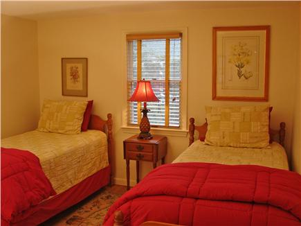 East Falmouth Cape Cod vacation rental - Twin bedroom on main floor
