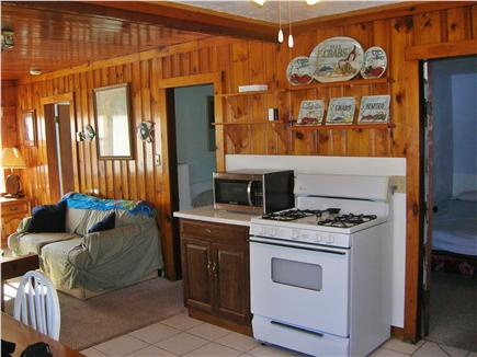 Swift's Beach, Wareham MA vacation rental - Entrance to cottage and kitchen