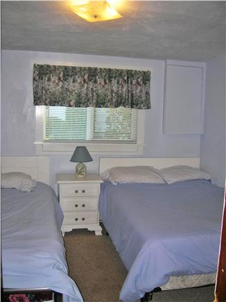 Swift's Beach, Wareham MA vacation rental - Third Bedroom with full and twin beds