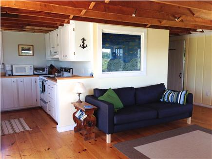 Truro Cape Cod vacation rental - Open living area and kitchen