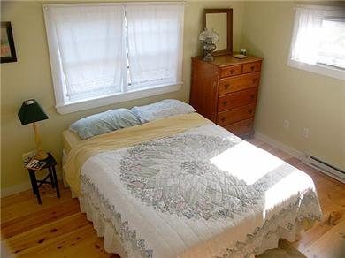 Truro Cape Cod vacation rental - Main BR is on 1st fl;  Lots of windows; cheerful