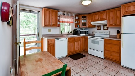 North Eastham Cape Cod vacation rental - Main kitchen off the Dining room