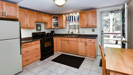 North Eastham Cape Cod vacation rental - Second Kitchen with access to deck off the living area