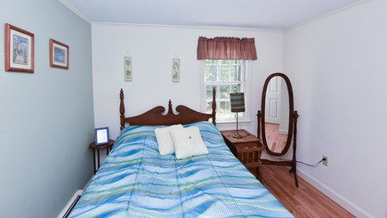 North Eastham Cape Cod vacation rental - Bedroom #4- First floor Bedroom with double bed