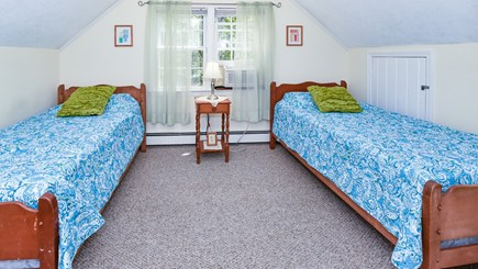 North Eastham Cape Cod vacation rental - Bedroom #6-Upstairs bedroom now has one twin and one double 2018