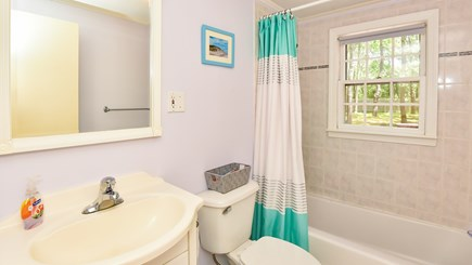 North Eastham Cape Cod vacation rental - First floor Bathroom- there are 4 bathrooms total all like this