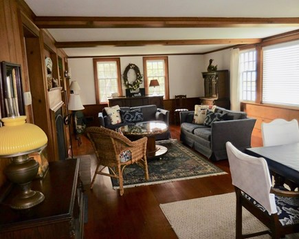 Chatham Cape Cod vacation rental - The Living / Dining area is spacious!