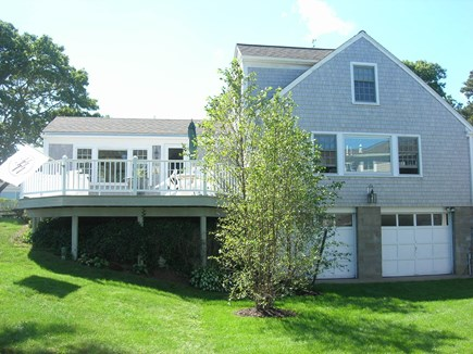 Chatham Cape Cod vacation rental - Large Deck and lawn area provide outdoor living space.