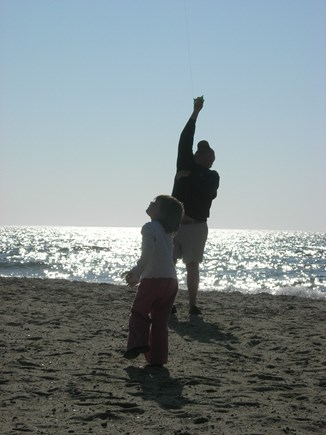 Chatham Cape Cod vacation rental - Where we can ride the waves or maybe fly a kite.