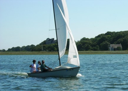 Chatham Cape Cod vacation rental - We enjoy sailing and kayaking right in front of our home!